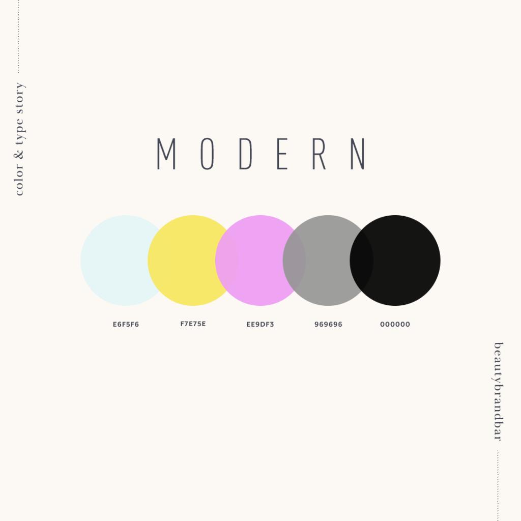 modern color scheme